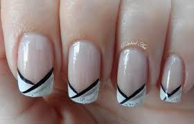 Silver And Black Nails | Dizzy Miss Lizzi