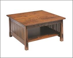 modern amish countryside mission square coffee table amish style coffee tables