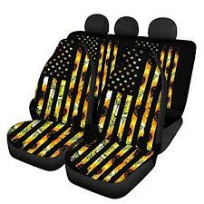 sunflower vintage car seat covers