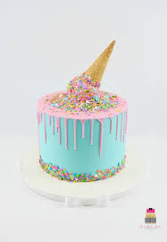 Ice Cream Theme Cake Cake By Mercedes Cakesdecor