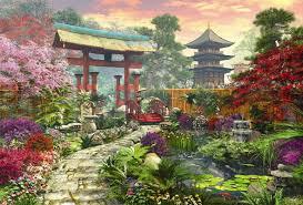 Japanese Garden Garden Educa 3000 Piece Puzzle