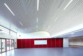 metal ceiling automatically