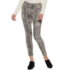 Kohls Womens Jeans Size Chart Womens Apt 9 High Rise Skinny Jeans Size 14 Grey