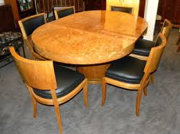 art deco round mid century dining table and chairs for 1