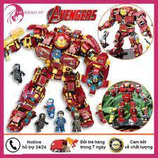 Đồ chơi lego, lego Hulkbuster người sắt iron man, đồ chơi lego avenger chất  liệu nhựa ABS an toàn tại Hà Nội