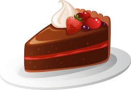 chocolate cake slice clip art. Chocolate Cake Clip Art Intended Slice