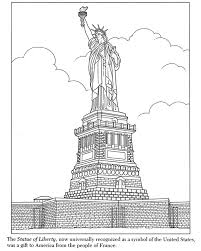 Small Picture Best Statue Of Liberty Coloring Page 78 For Coloring for Kids with