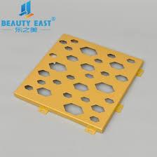 Reliable Louvers Color Chart Construction Color And Pattern Aluminum Solid Panel Building Decorative