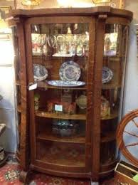 Oak Curio Cabinets - Foter