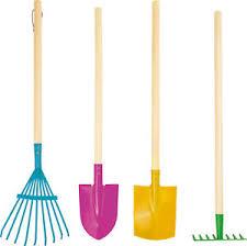 childrens garden tools set. Image Is Loading Childrens-gardening-tools-set-of-4-metal-garden- Childrens Garden Tools Set