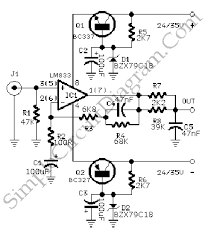 phono pre amplifier simple circuit diagram on simple audio amplifier schematic
