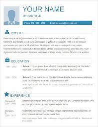 Basic Resume Templates Resume Cv Cover Letter