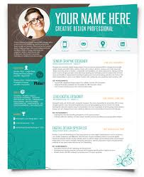 Creatively Different Resume Design By Resumezing