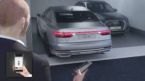2018 audi garage door opener. wonderful 2018 2018 audi a8  remote parking pilot and garage in audi garage door opener youtube