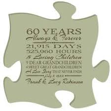 personalized 60th anniversary gift for him 60th anniversary gift for her special dates to
