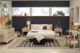 Navy And White Bedroom Target Chapter 7 Navy Blue Accent Wall Bedroom Makeover Emily
