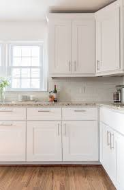 White On White Kitchen 17 Best Ideas About White Shaker Kitchen Cabinets On Pinterest