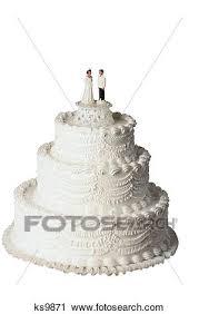 Stock Photography Of Wedding Day Bakery Baking Bride Cake