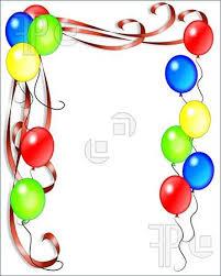 birthday balloons border clip art. Fine Birthday Birthday Balloon Border Clip Art Clipart In Balloons