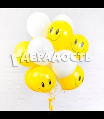 """Купить Облако из шаров """"Цвет настроения Желтый"""" в Москве"""