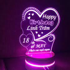 Quà tặng đám cưới ý nghĩa - đèn led 3d khắc theo yêu cầu - Sắp xếp theo  liên quan sản phẩm