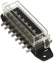 hella h84960111 8 way lateral single fuse box fuse boxes amazon hella h84960111 8 way lateral single fuse box fuse boxes amazon