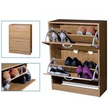 wooden shoe cabinet furniture. Top Home Solutions 2 Drawer Shoe Storage Cabinet Cupboard (Natural): Amazon.co.uk: Kitchen \u0026 Wooden Furniture H