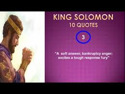The Best Quotes King Solomon YouTube Classy King Solomon Quotes