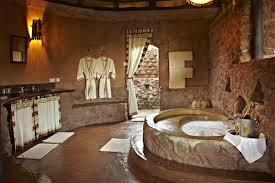 Screeding Bathroom Floor African Lodge Bathroom Screed Concrete Floor Concrete Bath Tub