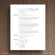 4 Minimalist Resume Templates