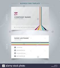Product Line Card Template Creative Business Card And Name Card Template Lines Vertical Stock