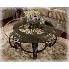 T399 8t Ashley Furniture Tullio Living Room Round Cocktail Table