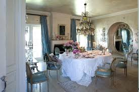 Country Chic Decor Dining Room Shabby Style With Interior Design Sto