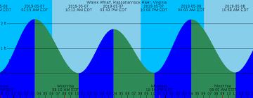 Solunar Tide Charts Tide Chart Pamunkey River 2019
