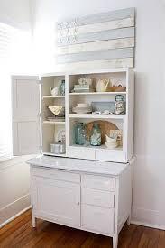 white hoosier kitchen cabinet