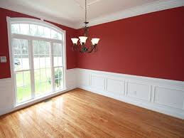 room paint red: grey dining room red dining room with wainscoting