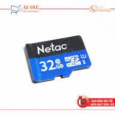 Thẻ Nhớ Micro SD Dung Lượng 32GB Netac Class 10 Cao Cấp - Thẻ nhớ và bộ nhớ  mở rộng Nhãn hàng No Brand