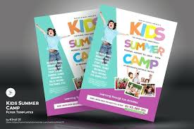 Summer Camp Flyer Ideas Template School Lilyvalley Co