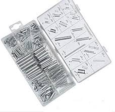 Hardware Size Chart 200pcs Box Steel Spring Electrical Hardware Drum Extension