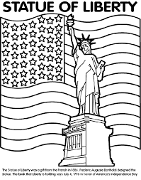 Small Picture Statue of Liberty Coloring Page crayolacom