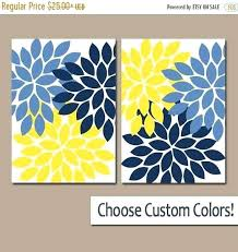 >blue and yellow wall art blue yellow wall art bastiendealmeida  blue and yellow wall art blue and yellow wall decor beautiful navy blue yellow wall art