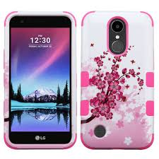 lg k20 case. cherry blossoms lg k20 plus tuff duo layer cover case lg i