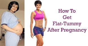tummy toning exercises after pregnancy