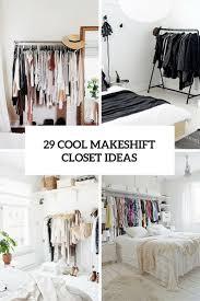 Open Closets Small Spaces Best 20 No Closet Solutions Ideas On Pinterest No Closet