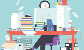 messy desk clipart. Beautiful Desk Credit Illustration By Ben Wiseman With Messy Desk Clipart S