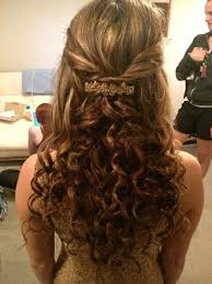 cute curly hair for prom hairstyle ideas