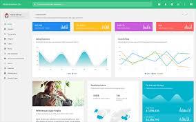 Material Charts Angular Material Admin Responsive Admin Theme
