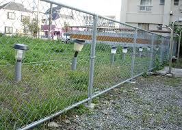 chain link fence post. Wonderful Chain Attractive Chain Link Fence Post With In Search Of Solar Powered Caps  Inspirations 9 I