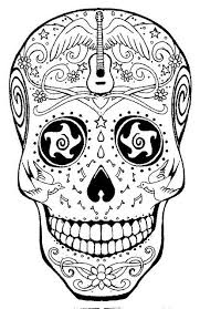 Small Picture 241 best MandalasSugar SkullsDay of the Dead images on Pinterest