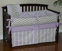 image of navy blue chevron baby bedding